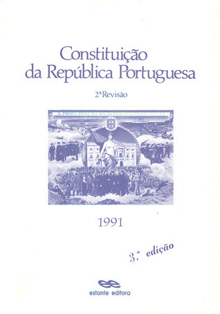 Constituição da República Portuguesa - 2ª Revisão - 1989 (Manuais, #2) República Portuguesa