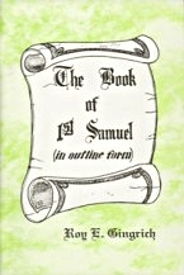 The Book Of First Samuel Roy Gingrich
