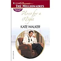 Hers For A Night  by  Kate Walker