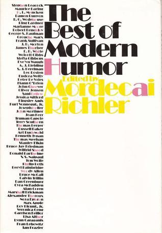 The Best of Modern Humor  by  Mordecai Richler