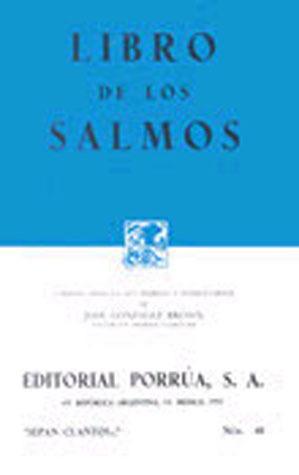 Libro de los Salmos. (Sepan Cuantos, #48) José González Brown