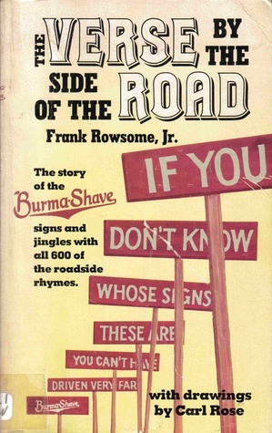 Verse  by  the Side of the Road by Frank Rowsome Jr.