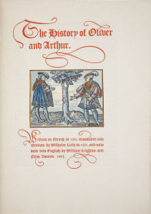 The History of Oliver and Arthur  by  William Leighton
