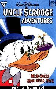 The Micro Ducks from Outer Space (Uncle Scrooge Adventures #15)  by  Carl Barks