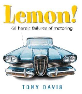 Lemon! Tony Davis