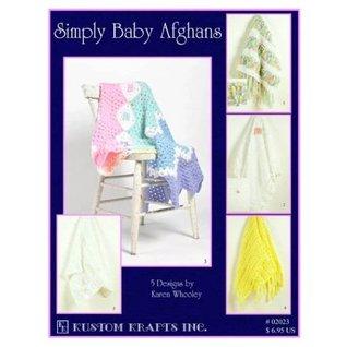 Simply Baby Afghans (02023) Karen Whooley