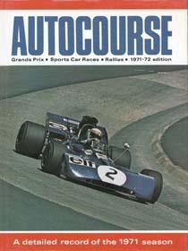 Autocourse 1971/1972 David Phipps