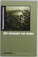 Het managen van teams Lawrence Holpp
