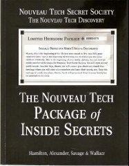 The Nouveau Tech Package of Inside Secrets Mark Hamilton