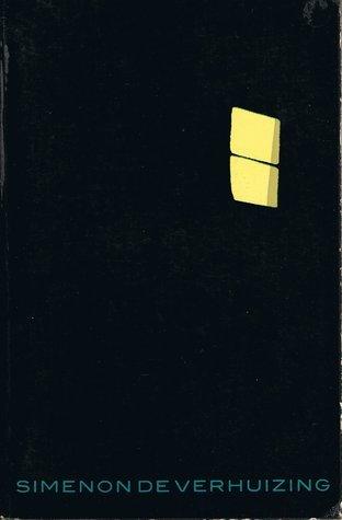 De verhuizing  by  Georges Simenon