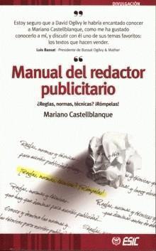 Manual del Redactor Publicitario Mariano R. Castellblanque