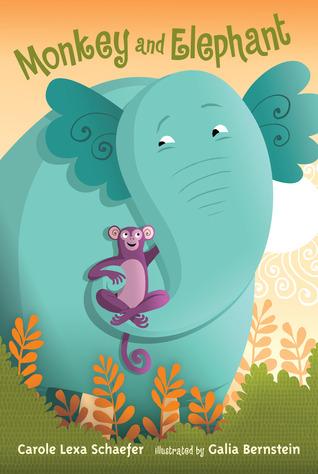 Monkey and Elephant: Candlewick Sparks  by  Carole Lexa Schaefer