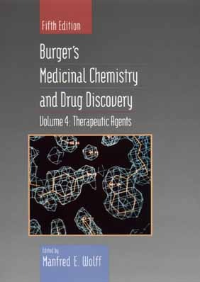 Burgers Medicinal Chemistry Manfred E. Wolff