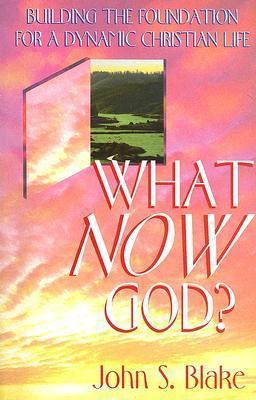 What Now, God?  by  John S. Blake