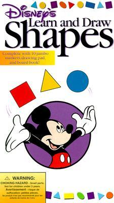 Learn and Draw Shapes [With 8 Markers, 1 Sketchpad] Walt Disney Company