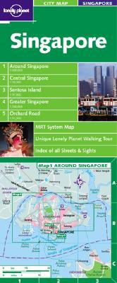 Singapore City Map Lonely Planet