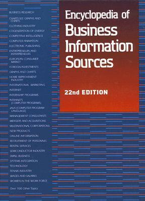 Encyclopedia Of Business Information Sources Linda D. Hall