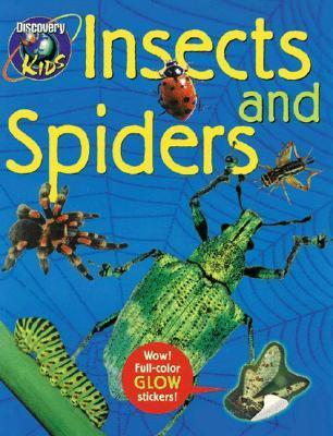INSECTS AND SPIDERS, Glow-in-the-Dark Sticker Book Discovery Kids Discovery Kids