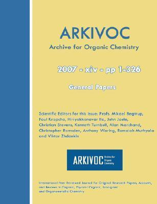 Arkivoc 2007 (XIV) General Papers  by  Mikael Begtrup