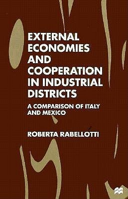 External Economies And Cooperation In Industrial Districts: A Comparison Of Italy And Mexico Roberta Rabellotti