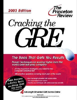 Cracking the GRE, 2003 Edition  by  Karen Lurie
