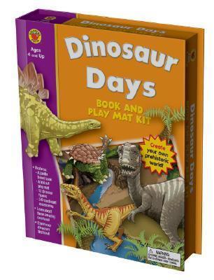 Dinosaur Days Book and Play Mat Vincent Douglas