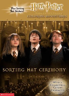 Sorting Hat Ceremony: Harry Potter and the Sorcerers Stone Coloring Adventures Scholastic Inc.