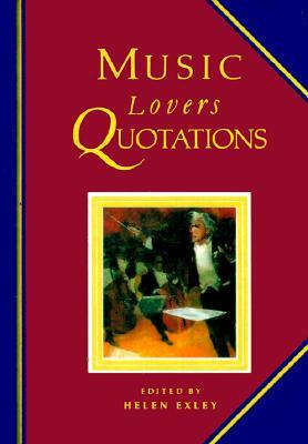 Music Lovers Quotations Helen Exley