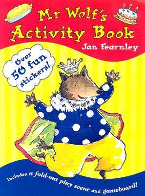 Mr Wolfs Activity Book  by  Jan Fearnley