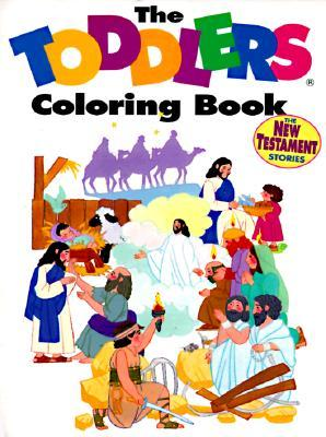 Toddlers Bible Coloring Book: New Testament  by  V. Gilbert Beers