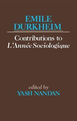 Emile Durkheims Contribution To LAnne Sociologiqu  by  Émile Durkheim