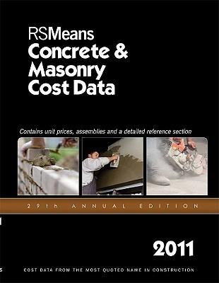 Concrete/Masonry Cost Data 2011  by  Stephen C. Plotner