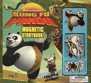 Kung Fu Panda Magnetic Storybook [With 8 Magnets]  by  Brighter Minds