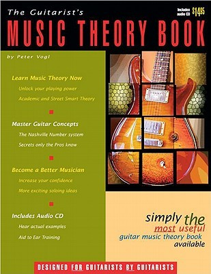 The Guitarists Music Theory Book (Book & audio CD) Peter Vogl