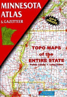 Minnesota Atlas and Gazetteer Delorme Publishing Company