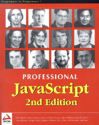 Professional JavaScript 2nd E Dition  by  Mark Baartse