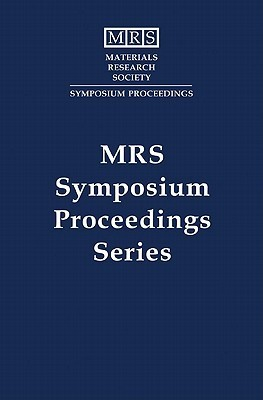 Materials For Hydrogen Storage: 2004 MRS Fall Meeting Symposium Proceedings Vol. 837 Tom Vogt