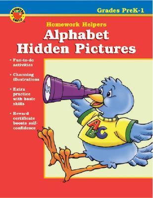 Alphabet Hidden Pictures Homework Helper, Grades Prek-1 Vincent Douglas