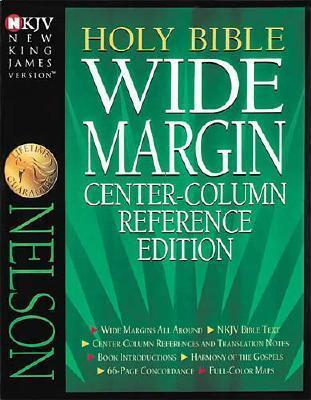 Wide Margin Center-Column Reference Bible Anonymous