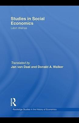 Studies in Social Economics Leon Walras