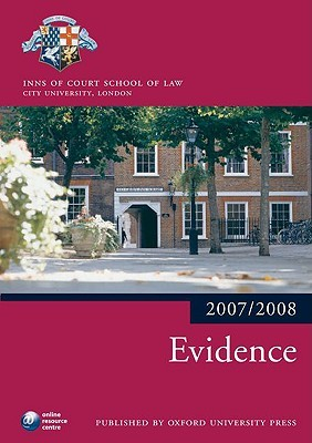 Evidence  by  Inns of Court School of Law