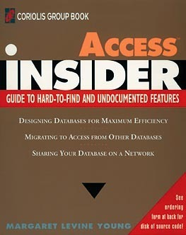 Access Insider  by  Margaret Levine Young