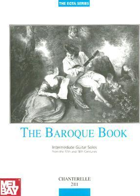 Baroque Book Intermediate Guitar Solos 17th-18th Century Richard  Wright