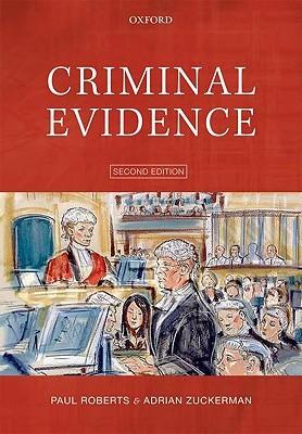 Criminal Evidence Paul Roberts