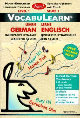 German/English: Level 1: VocabuLearn: Music-Enhanced  by  Penton Overseas Inc.