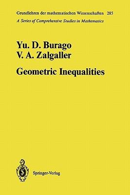 Geometric Inequalities Yurii D. Burago