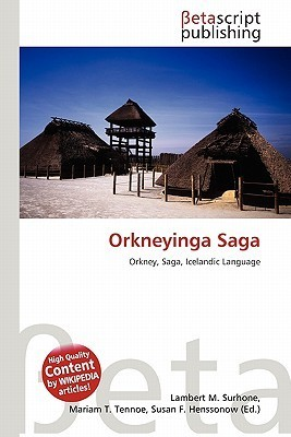 Orkneyinga Saga NOT A BOOK