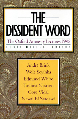 The Dissident Word  by  Chris Miller