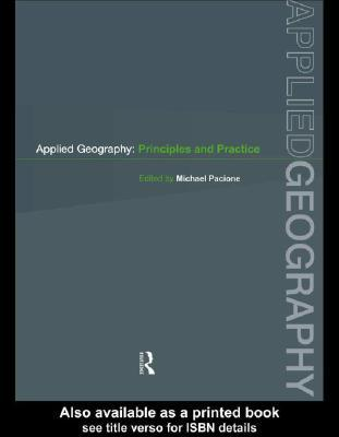 Applied Geography  by  Michael Pacione