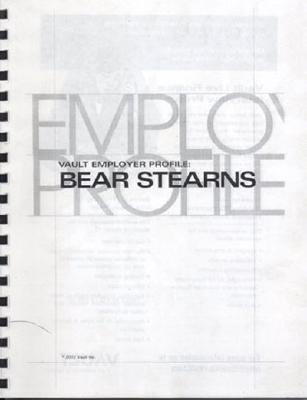Vep: Bear Stearns 2003 Vault.com Inc.